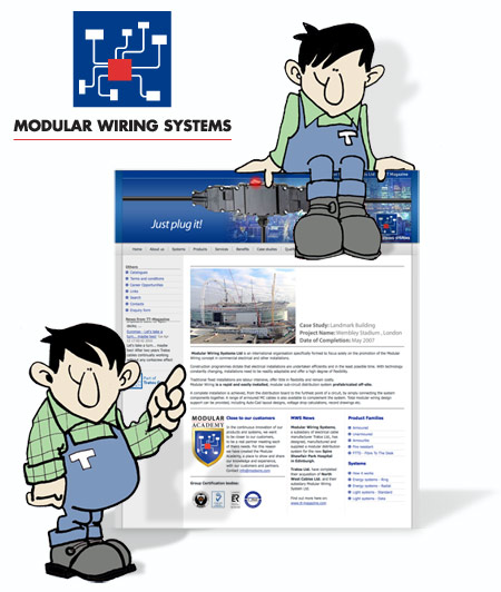 modular wiring systems has a new website